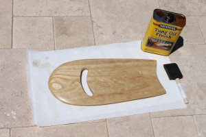 Tung Oil for Hand Plane