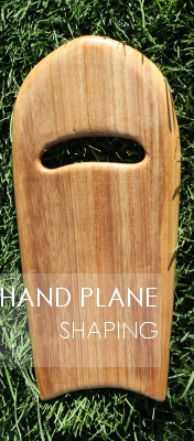 Hand Plane Shaping Manual